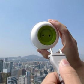 Solar Powered Window Socket