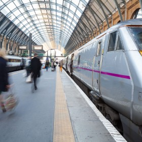 Abstracting electricity on a train may get you arrested